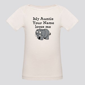 My Auntie Loves Me Elephant (Custom) T-Shirt